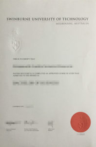 To buy Swinburne fake diploma and transcript from AUS