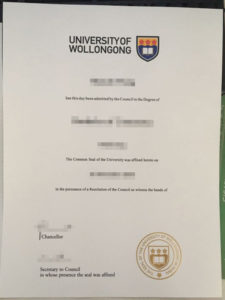 Buy UOW fake diploma and transcript from AUS
