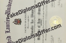 Buy WLU fake diploma and transcript from CAD