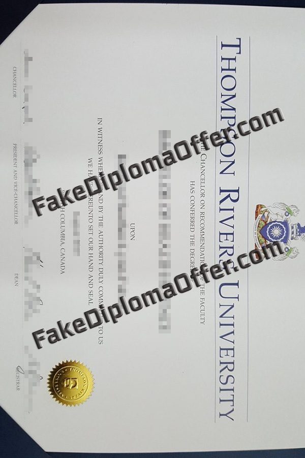 Purchase TRU fake diploma and transcript online