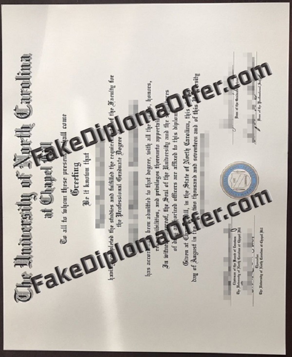 How to buy UNC Chapel Hill fake diploma from USA
