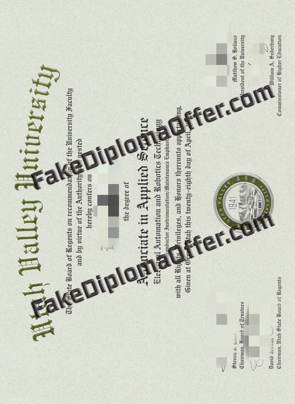 Buy UVU fake diploma certificate from USA