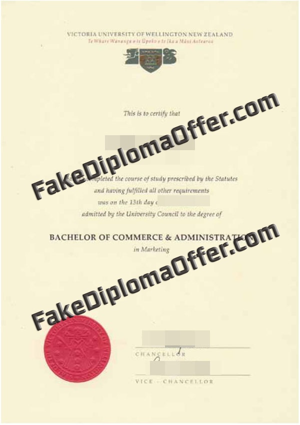 6 Tips For Victoria University of Wellington fake diploma