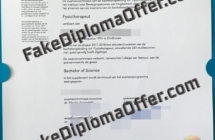 Hogeschool Utrecht degree certificate, Buy fake HU diploma online